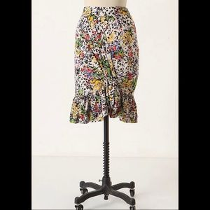 Anthropologie Edme & Esyllte Hustle + Bustle Skirt